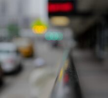 Green light means go, but watch for pedestrians by WilliamJPhoto