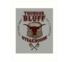 Thunderbluff Steakhouse! Art Print