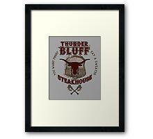 Thunderbluff Steakhouse! Framed Print