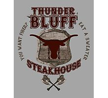 Thunderbluff Steakhouse! Photographic Print