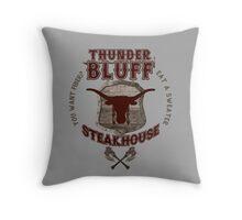 Thunderbluff Steakhouse! Throw Pillow
