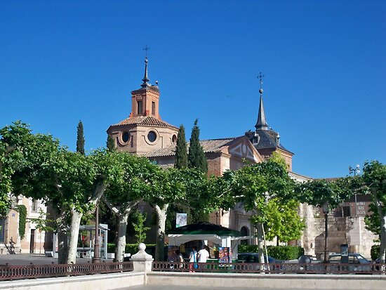 Judge's Chapel, Cervantes Plaza, Alcala de Henares, Madrid, Spain by MONIGABI