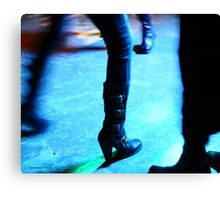 These Boots Are Gonna Rock All Over You Canvas Print