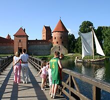 Trakai Castle, Lithuania by Juozasfoto