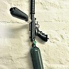 Paint-ball Gun. by nawroski .