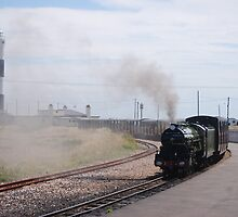 Original Steam Train Transport - Dungeness by HelenVidler