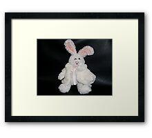 White Wabbit  Framed Print