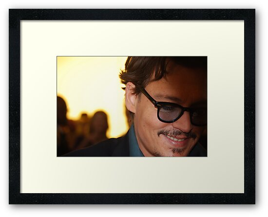 Johnny Depp @ Pirates of the Caribbean 4 Premiere by HelenVidler