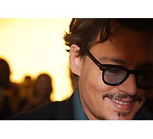 Johnny Depp @ Pirates of the Caribbean 4 Premiere Photographic Print