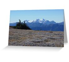 Obstruction Point 1 Greeting Card