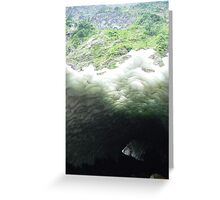 Pilchuck Ice Cave 1 Greeting Card