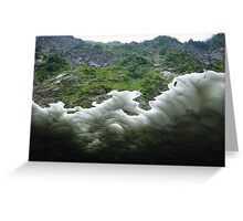 Pilchuck Ice Cave 2 Greeting Card