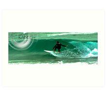 surf SW coast.. Art Print