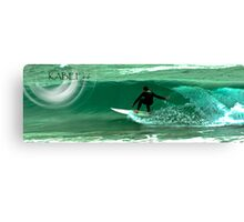 surf SW coast.. Canvas Print