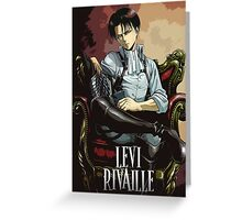 Levi Rivaille Greeting Card