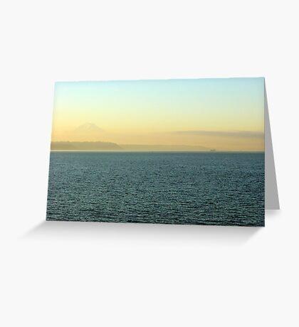 Puget Sound Smog Greeting Card