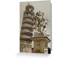 Torre pendente di Pisa Greeting Card