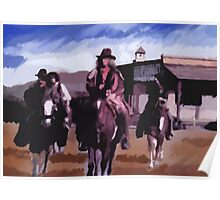 Saloon Drifters Poster