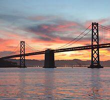Bay Bridge Sunrise  by Nic Horton