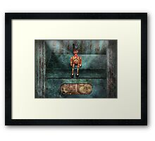 Steampunk - My favorite toy Framed Print