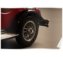 Rear tire - Red Model Poster