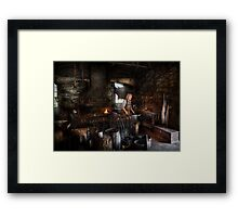 Blacksmith - This is my trade  Framed Print