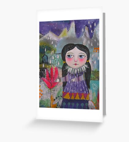 The Rainmaker Greeting Card