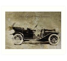 1911 Cadillac Art Print