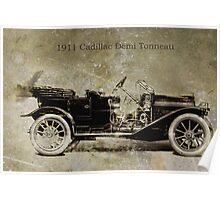 1911 Cadillac Poster