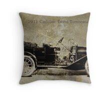 1911 Cadillac Throw Pillow