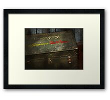 Doctor - Military Grade First Aid Framed Print