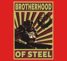 Brotherhood Of Steel Baby Tee