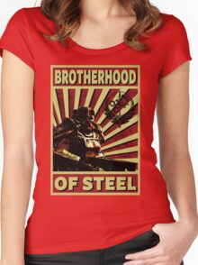 Brotherhood Of Steel Women's Fitted Scoop T-Shirt