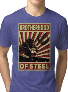 Brotherhood Of Steel Tri-blend T-Shirt