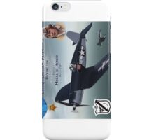 "Medal of Honor ""Pappy"" Boyington iPhone Case/Skin"