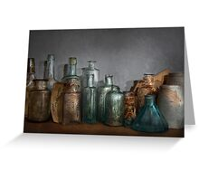 Pharmacy - Doctor I need a refill  Greeting Card