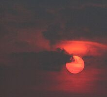 Red Sun by Ian Alex Blease
