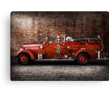 Fireman - FGP Engine No2 Canvas Print