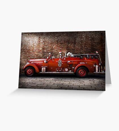 Fireman - FGP Engine No2 Greeting Card