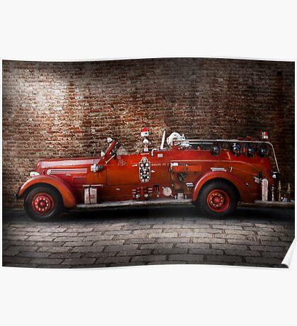 Fireman - FGP Engine No2 Poster