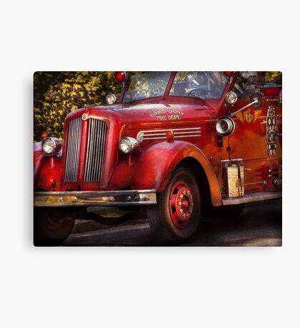 Fireman - The Garwood fire dept Canvas Print