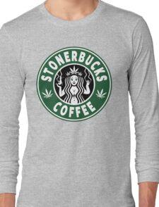 Stonerbucks Coffee Long Sleeve T-Shirt