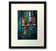 Boat - Propulsion  Framed Print