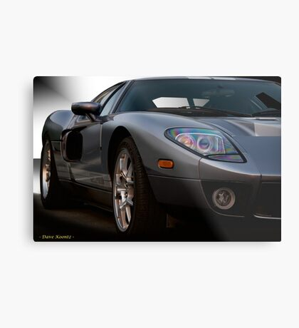 2006 Ford GT VS1 Metal Print
