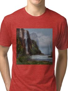 Tall Waterfall Tri-blend T-Shirt