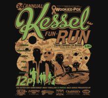 Kessel Fun-Run (12-Parsec Race to Cure Wookiee-Pox) Kids Clothes