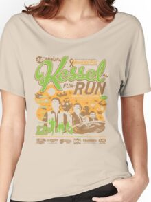 Kessel Fun-Run (12-Parsec Race to Cure Wookiee-Pox) Women's Relaxed Fit T-Shirt