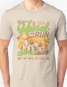 Kessel Fun-Run (12-Parsec Race to Cure Wookiee-Pox) T-Shirt