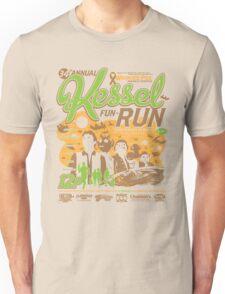 Kessel Fun-Run (12-Parsec Race to Cure Wookiee-Pox) Unisex T-Shirt