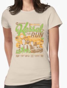 Kessel Fun-Run (12-Parsec Race to Cure Wookiee-Pox) Womens Fitted T-Shirt